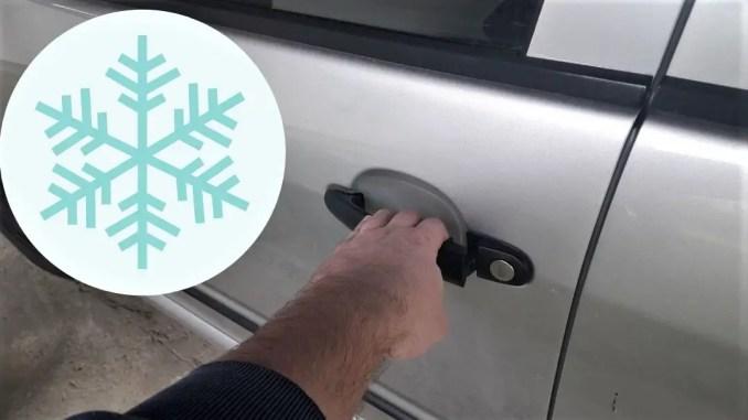 how-to-open-frozen-car-door