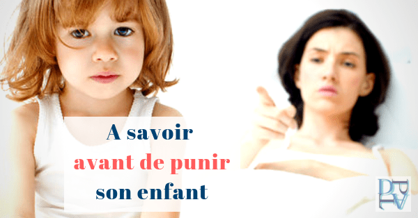 Ce qu'il faut savoir avant de punir son enfant, les 4 R de la punition