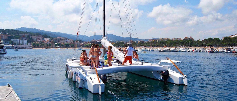 Alquiler catamarán Platja d'Aro