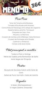 Platja d'Aro Restaurantes