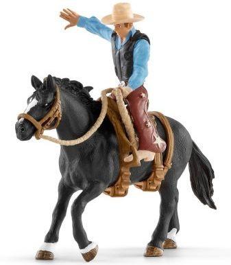 Western cowboy in het zadel Schleich (41416)