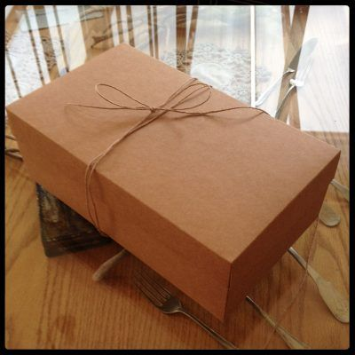 Caja Carton Ecologico