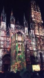 Rouen Cathédrale de Lumières @desperatecouchpotatoe