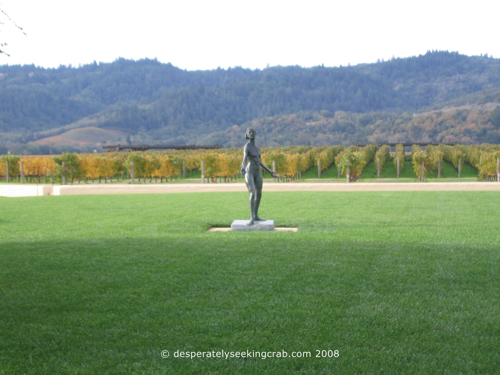 Robert Mondavi Winery in Autumn