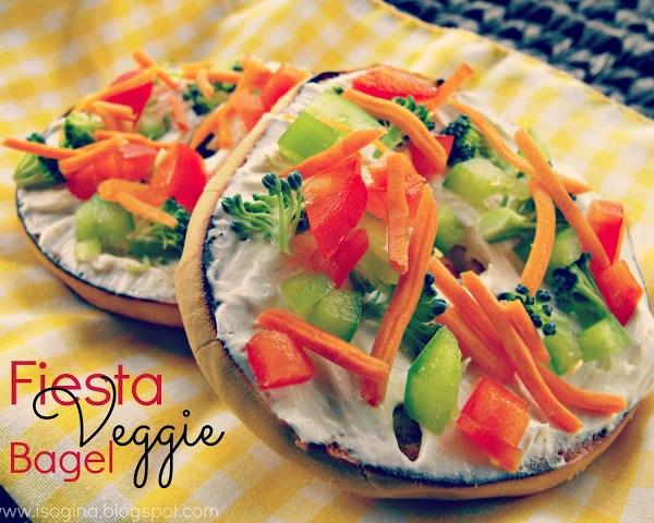 Fiesta Veggie Bagel