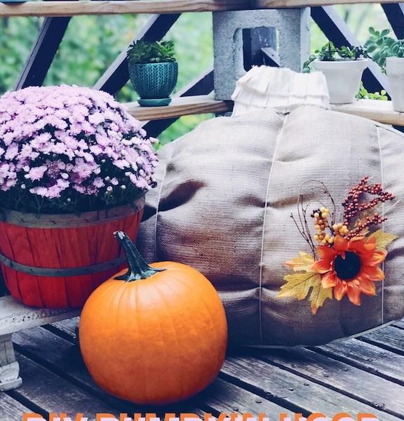 DIY Pumpkin Hoop | Fall Decorating