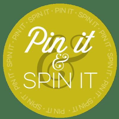 Pin It & Spin It Pinterest Challenge via Desperately Seeking Gina