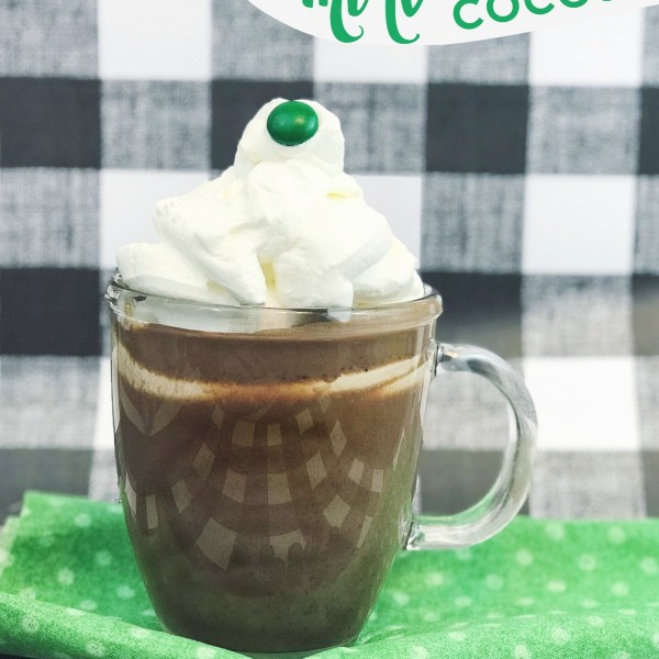 Mint Hot Cocoa | Pin It & Spin It