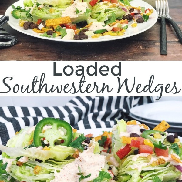 Loaded Southwestern Wedges
