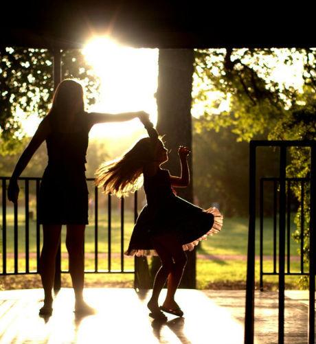 Mujer madre e hija