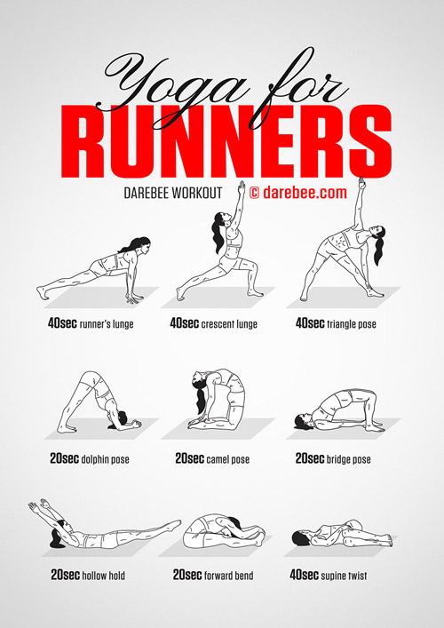 yoga para corredores retos fitness despierta y entrena
