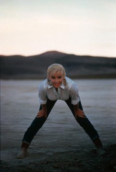 Marilyn Monroe, en Levis 501.