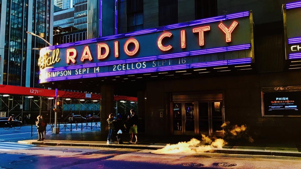 NYC : Radio city