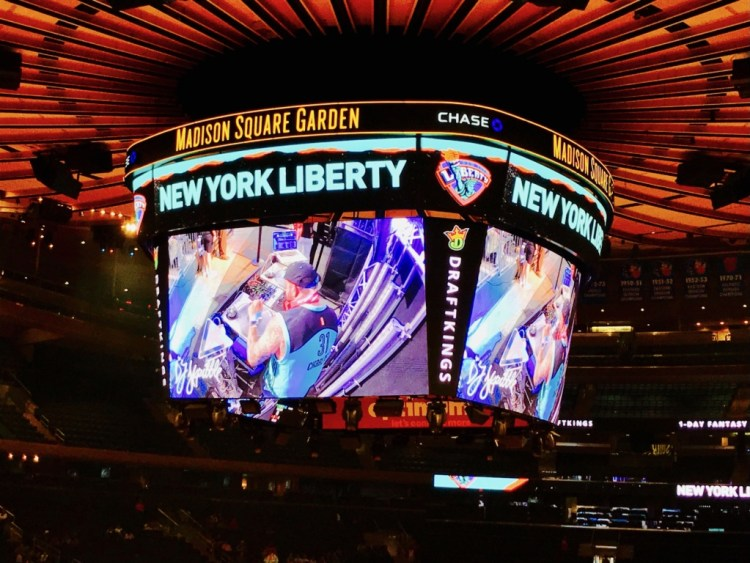 NYC : Madison Square Garden