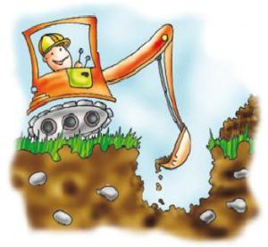 Montaj fosa septica ecologica - excavatie www.desprefose.ro