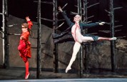 Guillaume Espinach (William Frankenstein) and Steven McRae (The Creature) in Frankenstein by The Royal Ballet @ Royal Opera House. Choreography by Liam Scarlett. (Opening 04-05-16) ©Tristram Kenton 05/16 (3 Raveley Street, LONDON NW5 2HX TEL 0207 267 5550 Mob 07973 617 355)email: tristram@tristramkenton.com