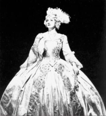 Stella Roman - Amelia (Un ballo in maschera) - Metropolitan, 1942 (colecția Andre Tubeuf)