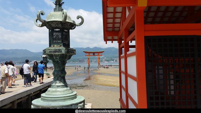 visiter l'île de Miyajima, là où les déesses ont trouvé un abri sur terre