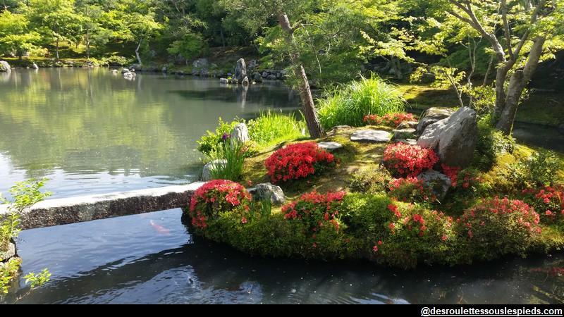 Arashimaya le temple du dragon céleste et la bambouseraie de Sagano