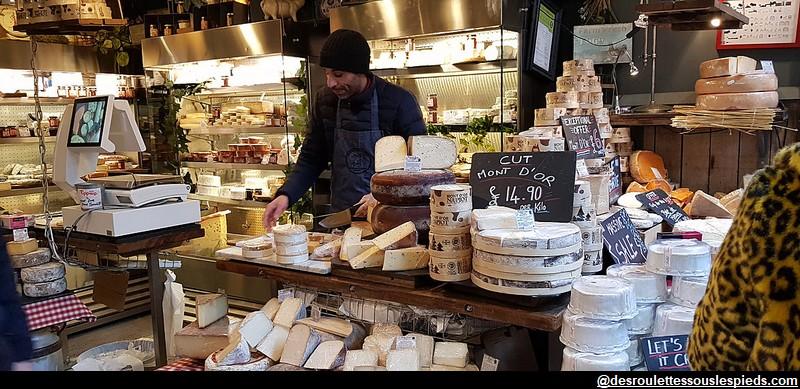 Borough Market fromages français