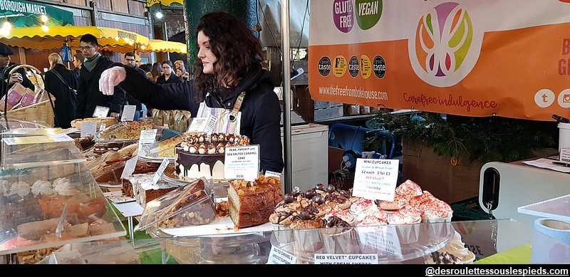 Borough Market sweets