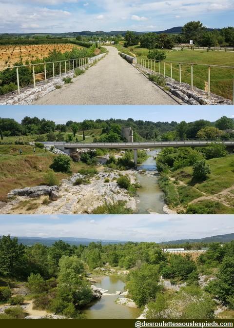 velouroute calavon pont romain