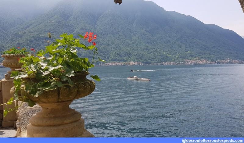 villa balbianello vue sur le lac de côme
