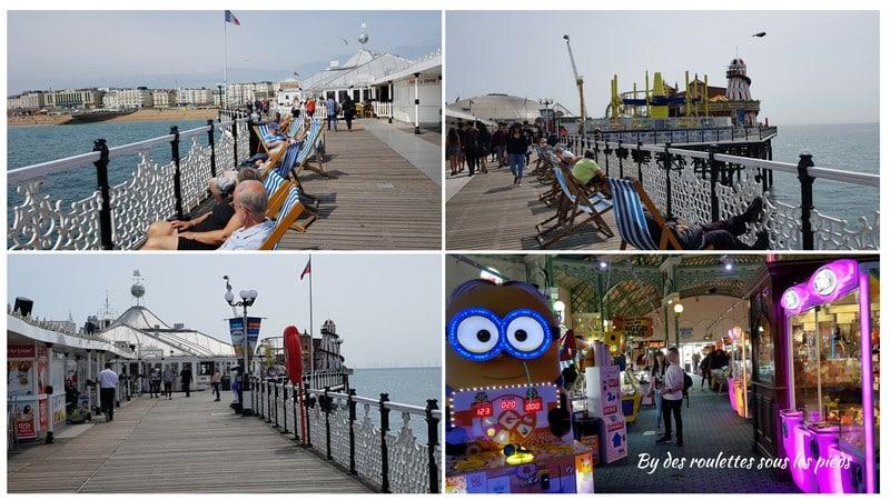 Brighton sur palace pier