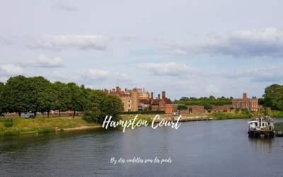 Un jour à Hampton Court, château royal au sud ouest du Grand Londres