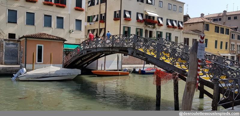 un jour à Venise ponte de ghetto novo