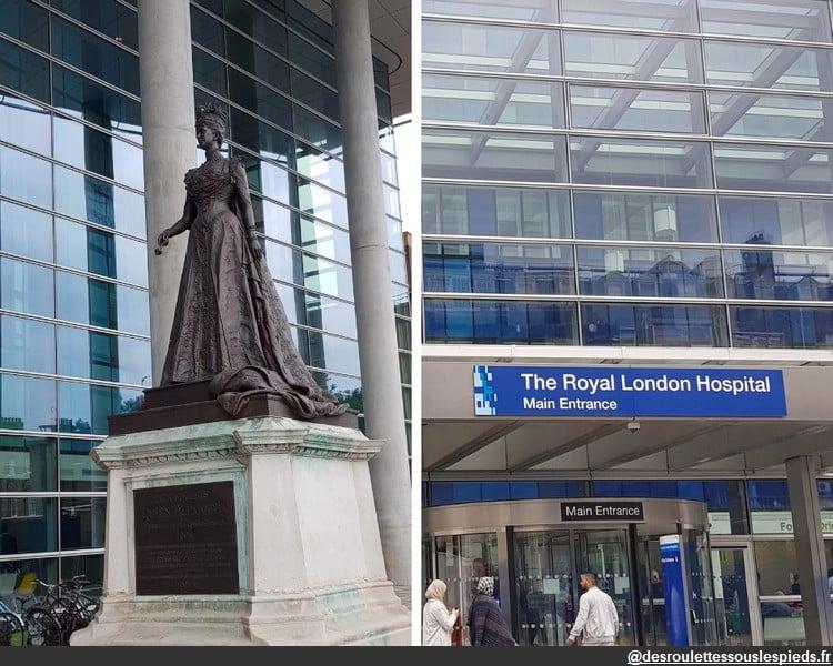 Sur les traces de jack l'éventreur royal london hospital
