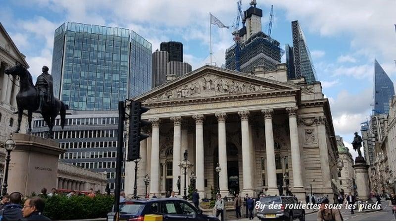 Sur les traces de Jack l'éventreur le royal London exchange