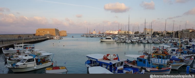 visiter crete ouest port héraklion