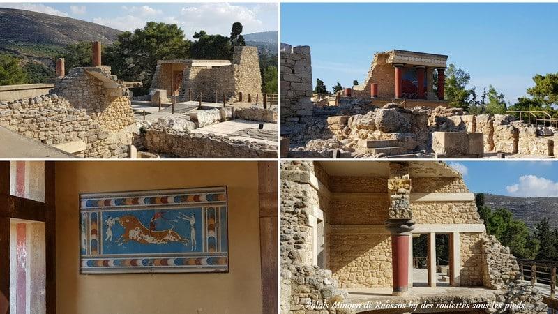 visiter crete ouest knosos
