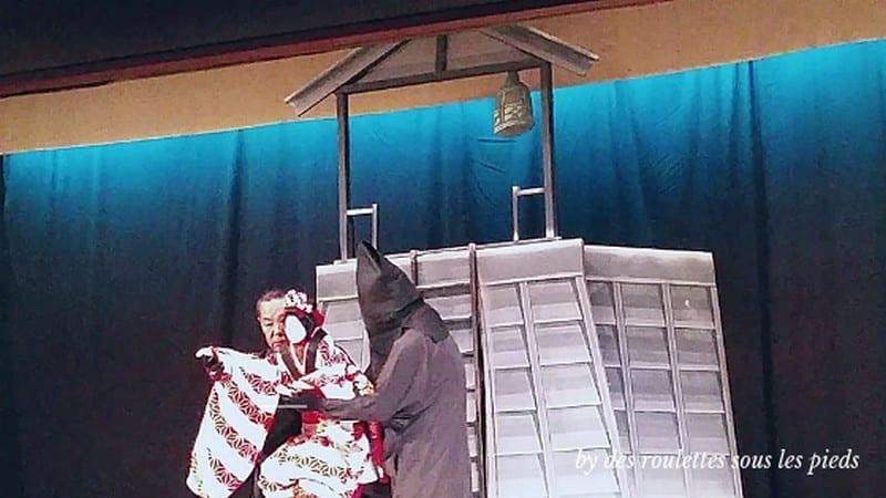marionnette du théatre bonraku