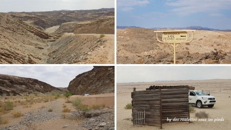 road trip Namibie khuisseb canyon