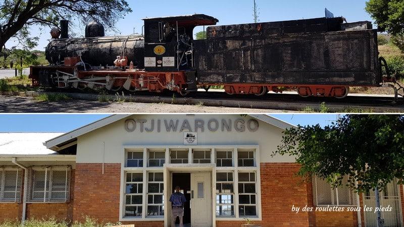 safaris en namibie gare de marchandises d'otjwarango