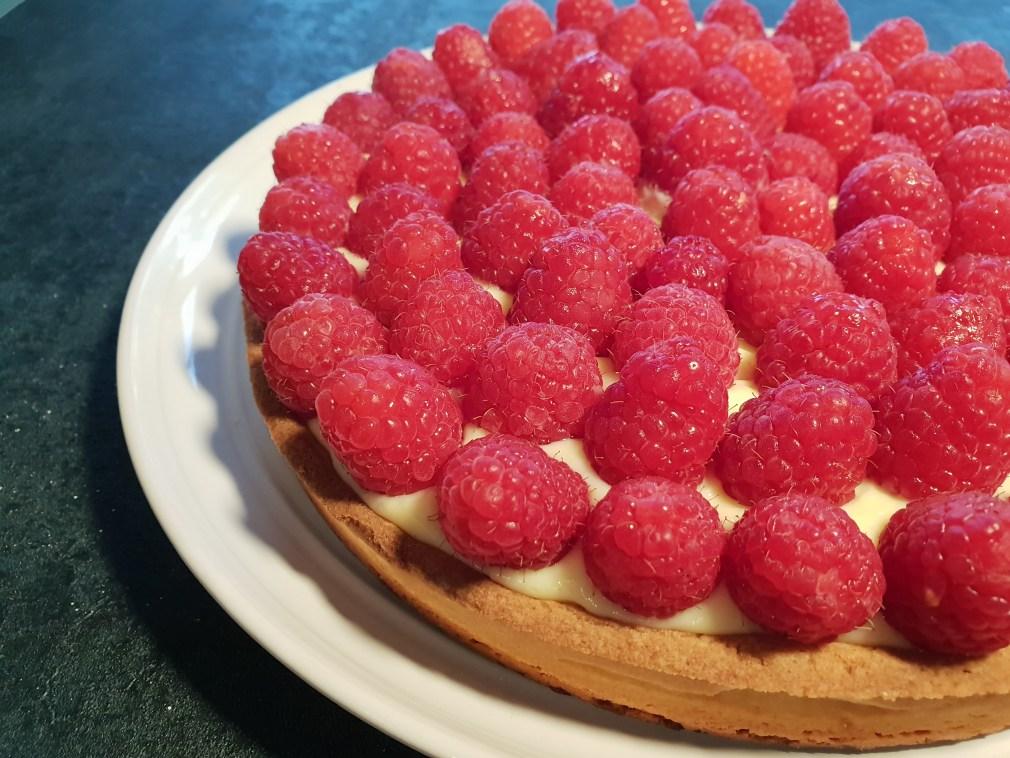 Raspberry Tart Pastry Tarte Framboises recipe recette