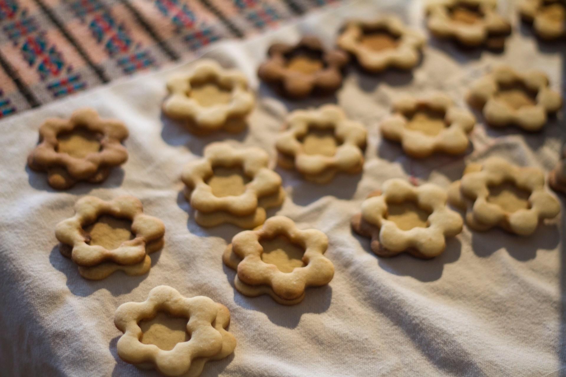 recette, recipe, pastry, sablés, fraise, cookies, gateaux, strawberry, patisserie, sweet, yummy