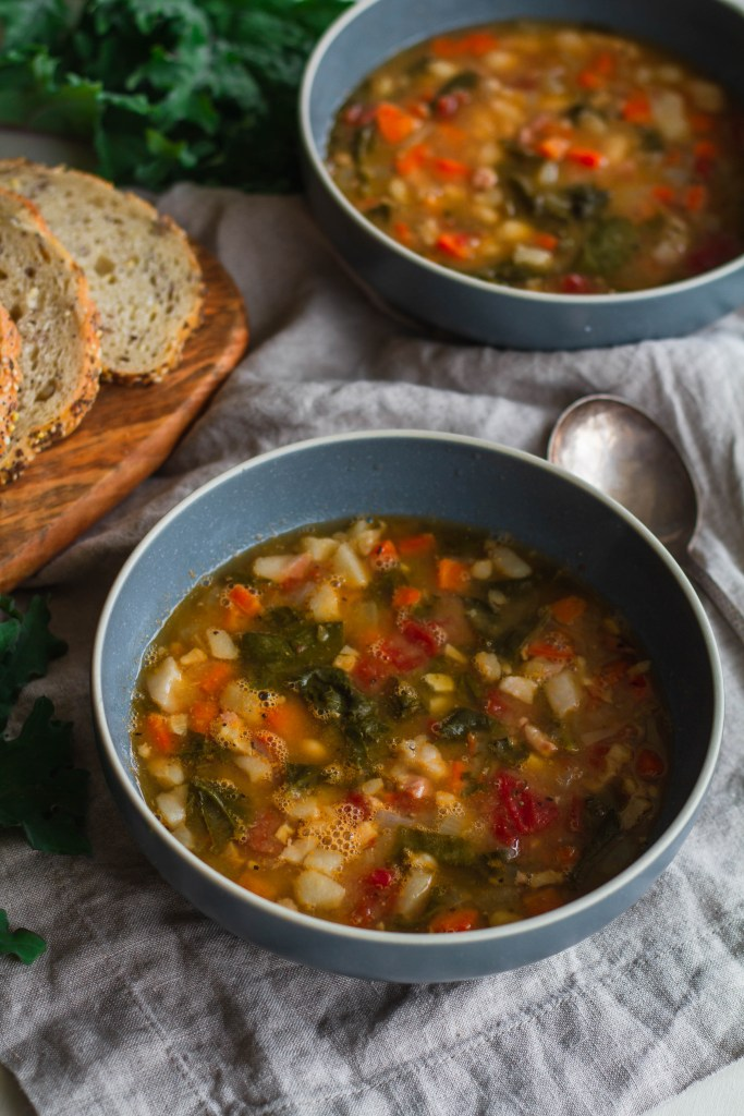 Ribollita white bean soup
