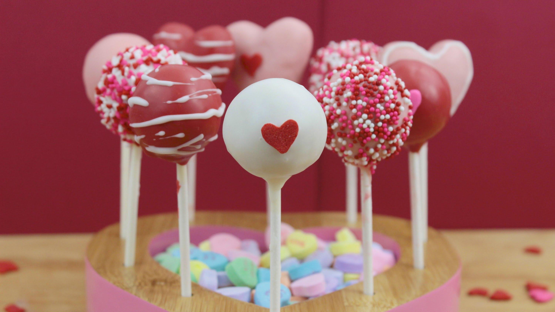 Irresistible Valentine Days Cake Pops Desserts Corner