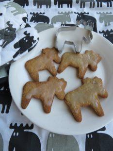 Moose souvenirs en koekjes