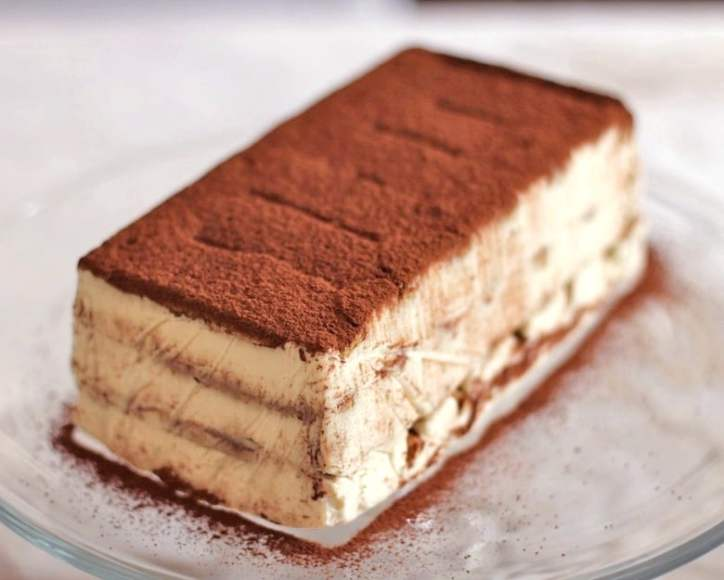 Healthy Desserts Homemade Tiramisu with Coffee Chocolate and Less Calories