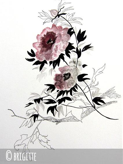 brigitte2 aquarelle stylo