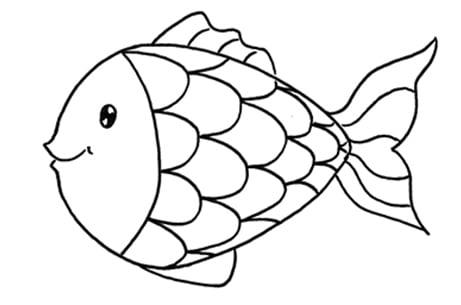 Dessiner un poisson: étape 4: les écailles