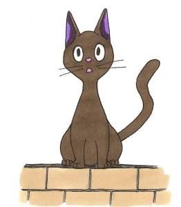 Read more about the article Dessiner le chat de Kiki la petite sorcière