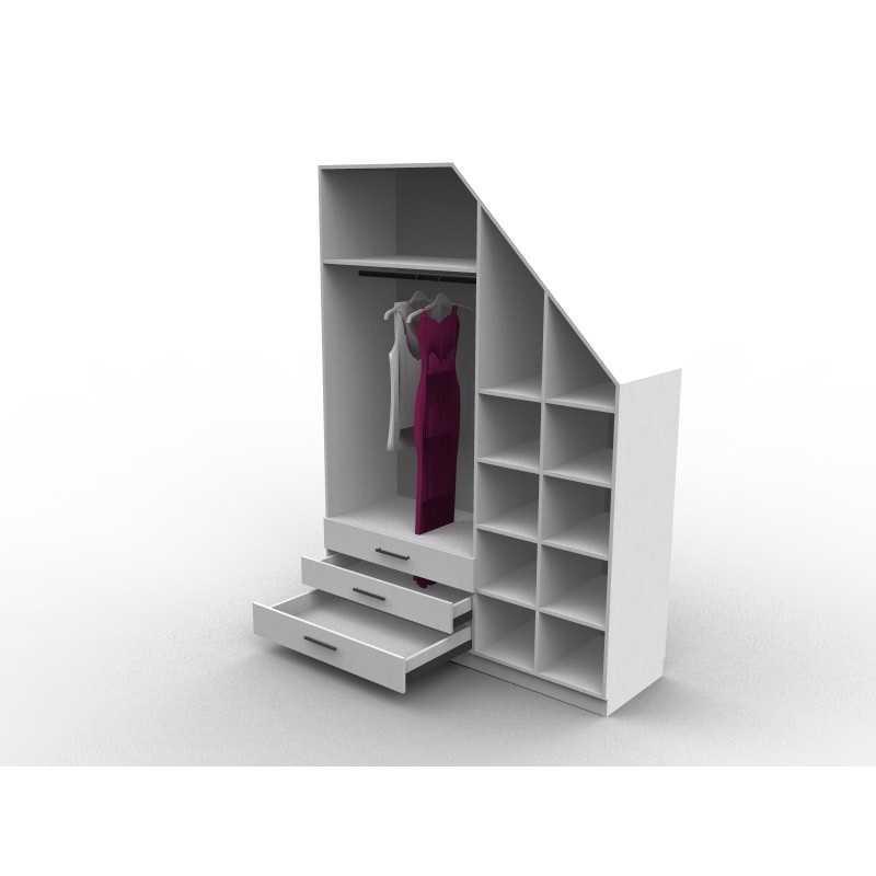 Meuble Sous Escalier Avec Dressing Sur Mesure Et Configurable