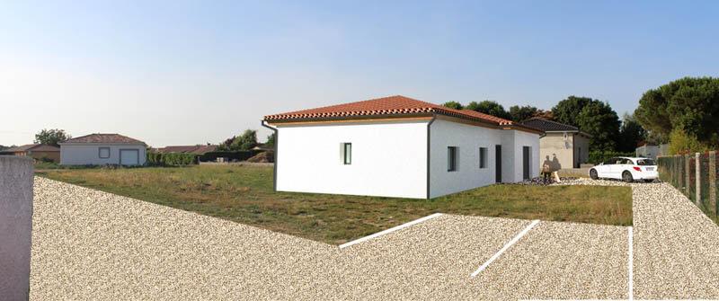 Maison 90 m² - Longages (31)