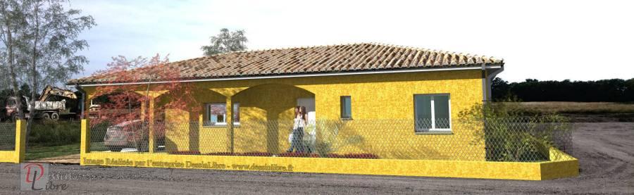 Maison de Plain Pied de 105 m² avec Garage et Carport - Grépiac (31)