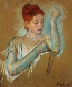 Inspirations d'Elise, une peinture de Mary Cassatt